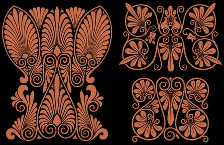Greek Patterns Illustration