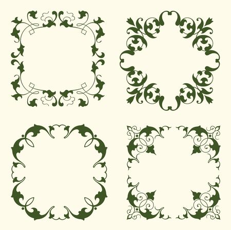 Floral Frames Stock Vector - 13010591