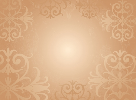 Fancy Floral Background Stock Vector - 15494048