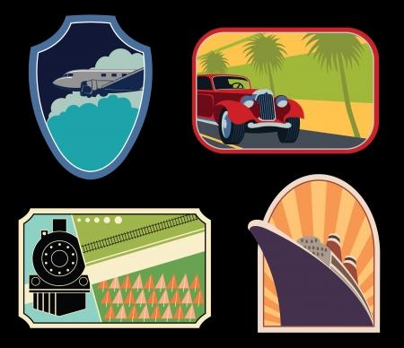 headlight: Luggage Labels
