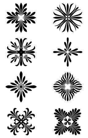 Greek Floral Ornaments