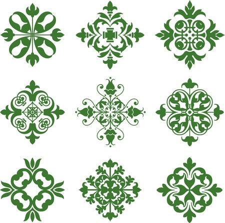 Clover Leaf Icons Vector
