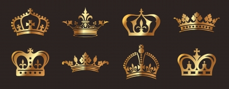 couronne royal: Couronnes d'or