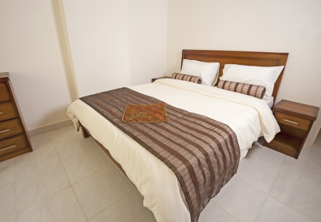 show home: Luxury show home bedroom showing interior design