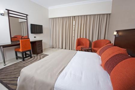 Luxury hotel bedroom in a suite Stock Photo - 14716012