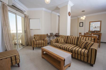 show home: Interior of show home living room showing interior design
