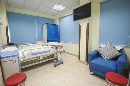 hospitales: Una cama en un hospital privado centro m�dico sala de barrio