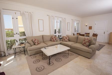 interior design: Lounge living area showing interior design of a luxury villa