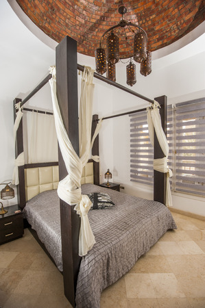 Interior Design Decor Furnishing Of Luxury Show Home Holiday.. Stock ...
