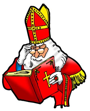 sinterklaas: Sinterklaas leest