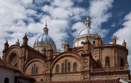 La Catedral de la Inmaculada Concepción, Cuenca, Ecuador