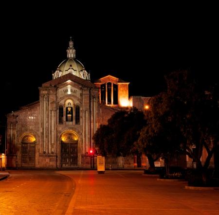 San Blas Cathedral, Cuenca, Ecuador