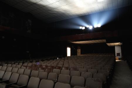 market hall: A cinema ruin in Hong Kong