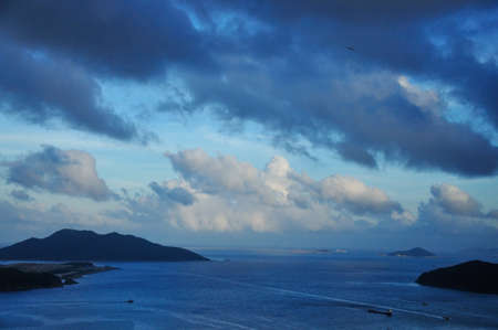 View of the Ocean in Hong Kong photo