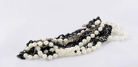 Isolated jewelry on white background  photo