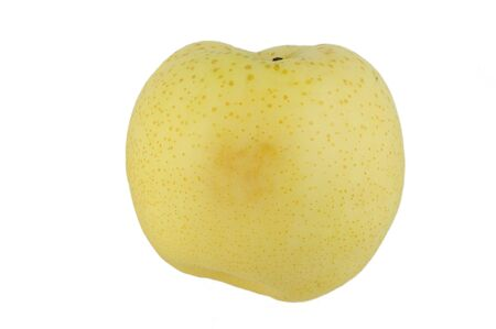 asian pear: Isolated Peer on a white background