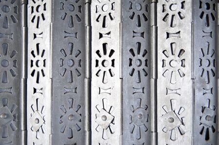 metal gate: Classic foldding metal gate in Hong Kong old door