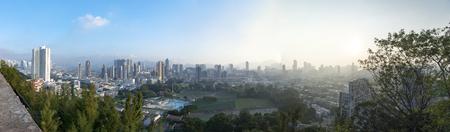 density: Downtown of Hong Kong, high density