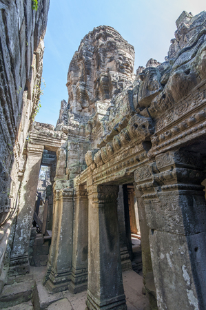 bayon: Bayon Temple in Angkor, Siem Reap