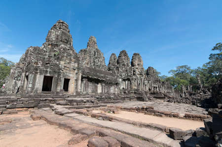 siem: Bayon Temple in Angkor, Siem Reap
