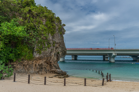 Naminoue-gu beach, Okinawa, Japan