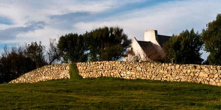 campagne: Maison bretone Stock Photo