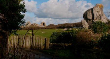 paysage: Paysage breton Stock Photo