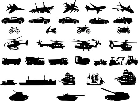 transportation collection   Stock Vector - 7776984