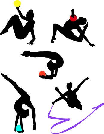 gymnastics girl: collection of gymnastics