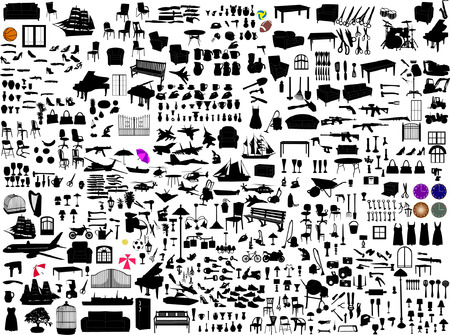 miscellaneous objects Illustration
