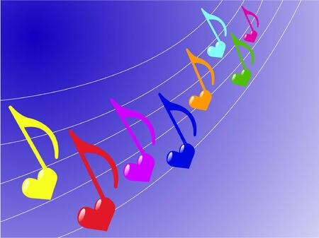 wind instrument: music background