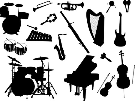 accords: musical instruments Illustration