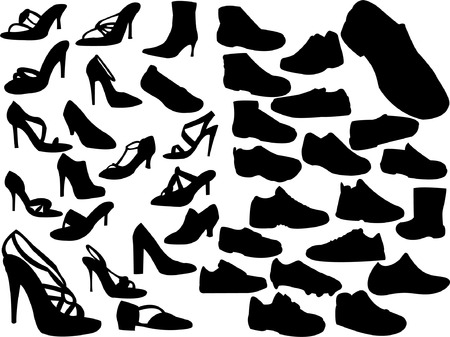 ordinary: collection of shoes