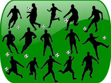 football with background  Vector