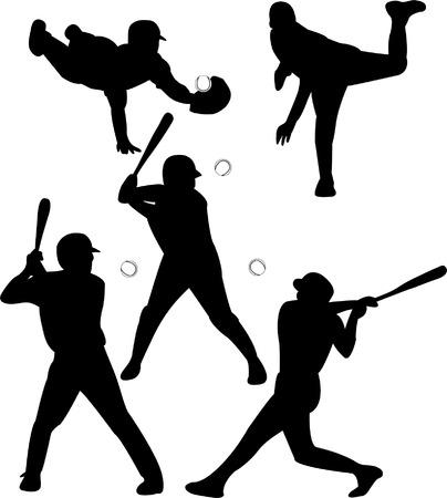 guante de beisbol: jugadores de b�isbol