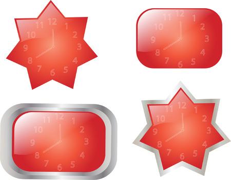 timekeeper: clocks collection Illustration