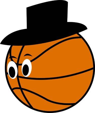 pelota caricatura: Cartoon ball - vector Vectores