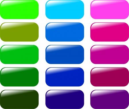 refresh button: Buttons collection - vector