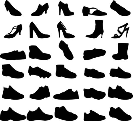 plimsolls: Collection of shoes