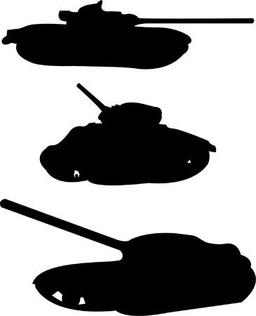 regiment: tanks collection - vector