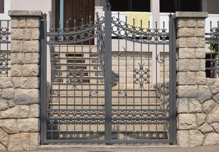 wrought: gate
