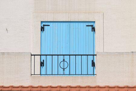 ourdoor: shutters on the window