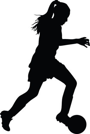 kobieta piłkarz
