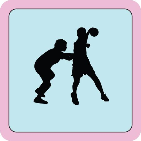 atack: handball player