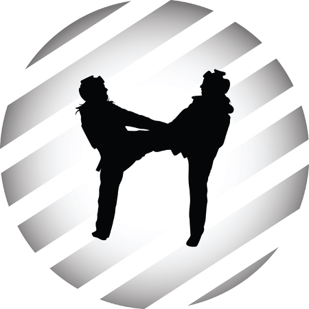 individual sports: taekwondo woman