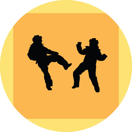 taekwondo woman