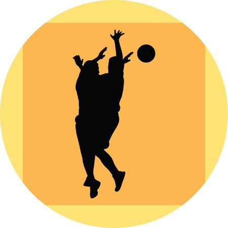 nba: Basketball player Illustration