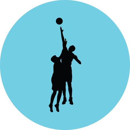 basketball player Stock Vector - 73974009