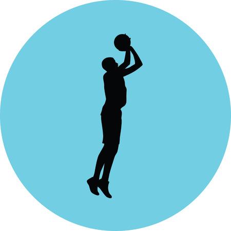 basketball player Stock Vector - 73974029