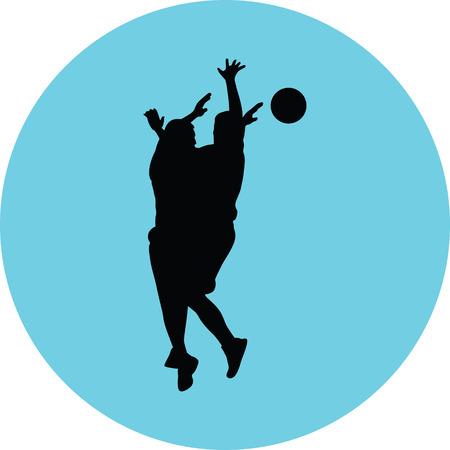 basketball player Stock Vector - 73974086